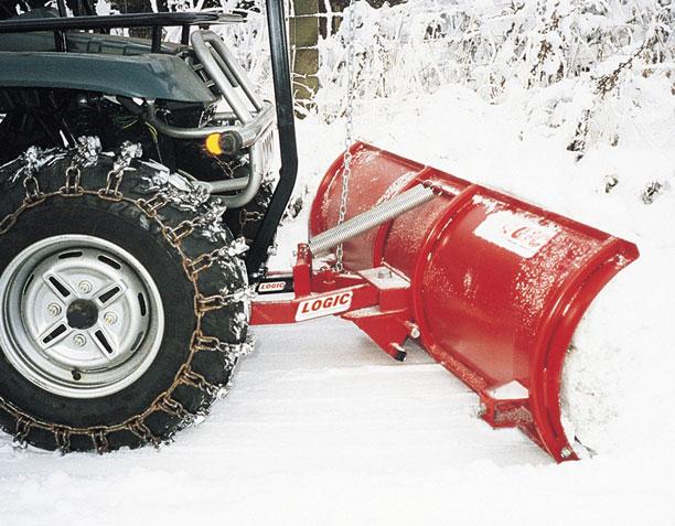 Quad sneeuwschuif
